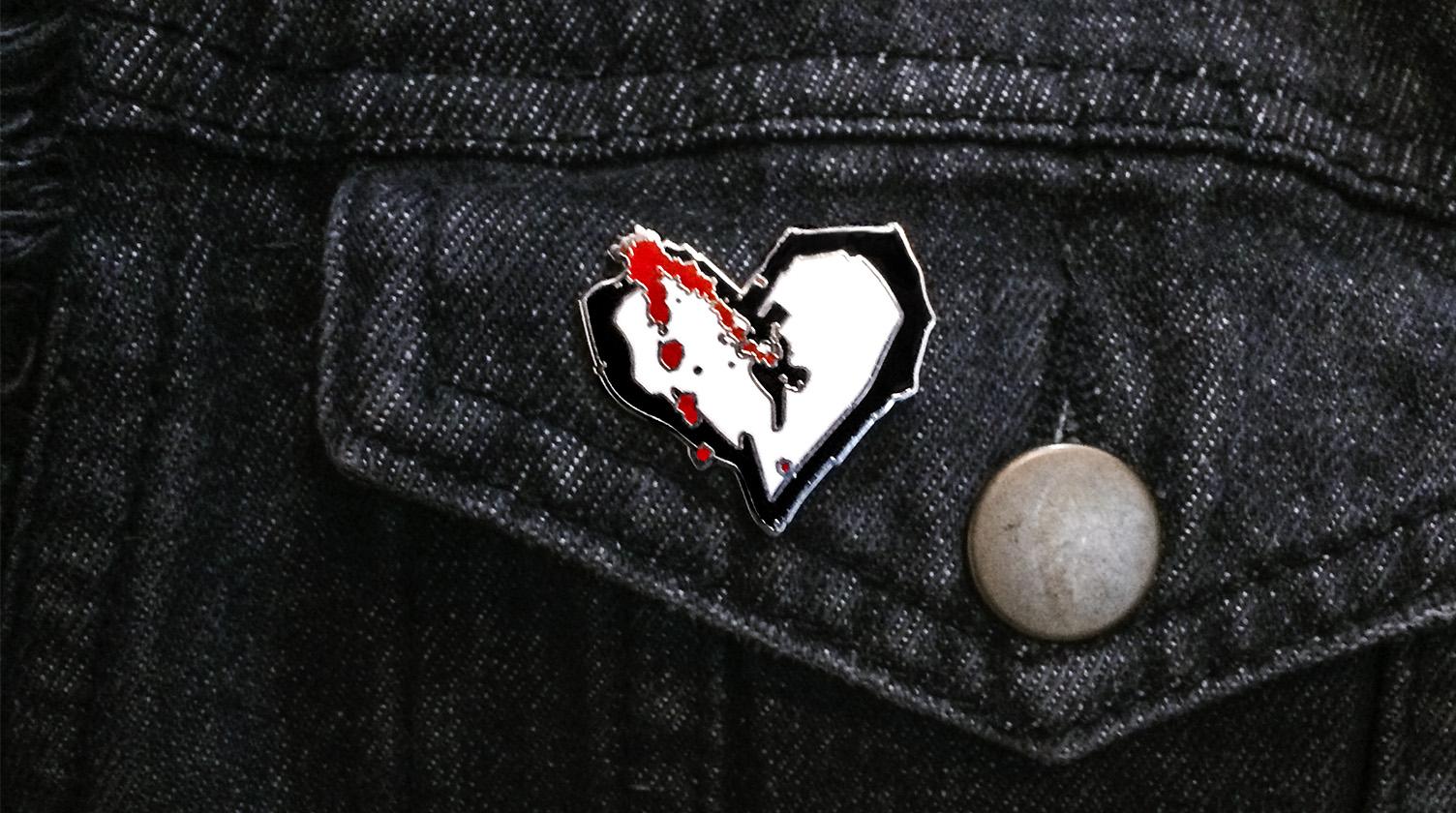 AbsolutePunk Logo Pin