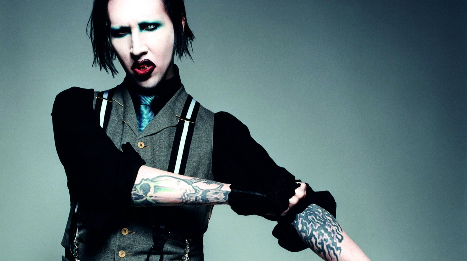 marilyn manson titles new album say10. Black Bedroom Furniture Sets. Home Design Ideas