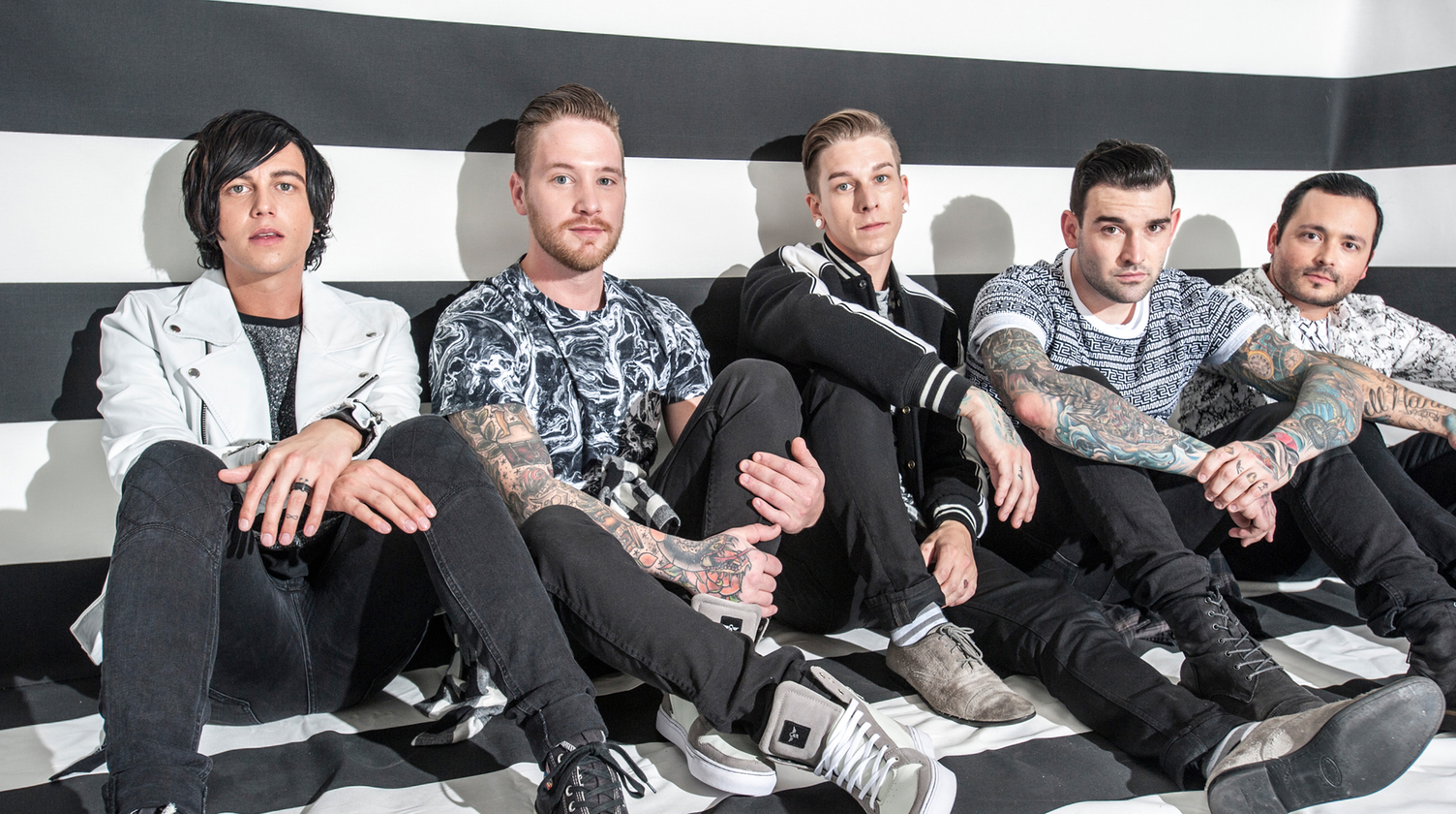 Sleeping With Sirens at Warped Tour (Video Interview)
