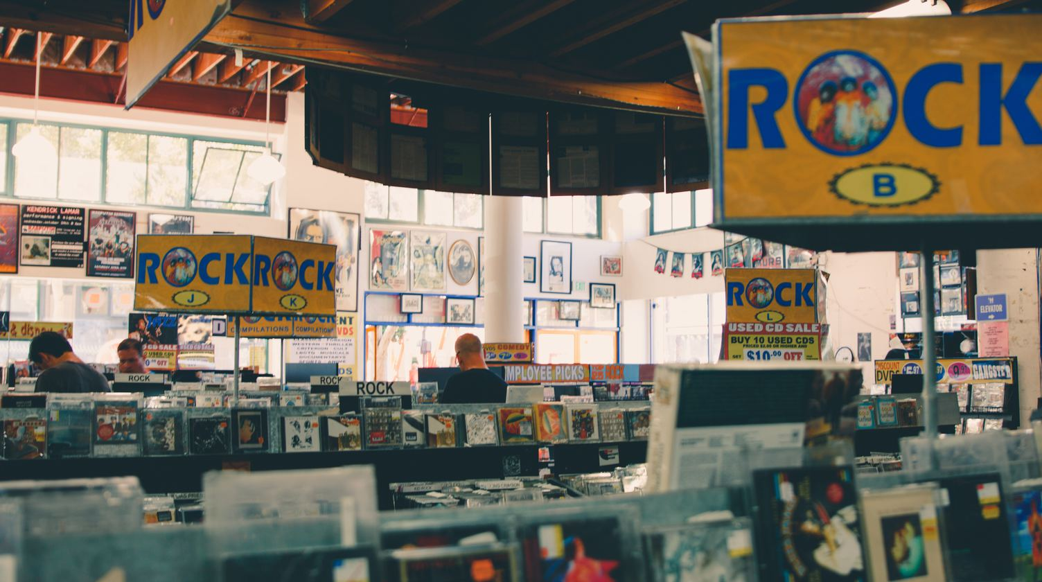 CD, Record Store
