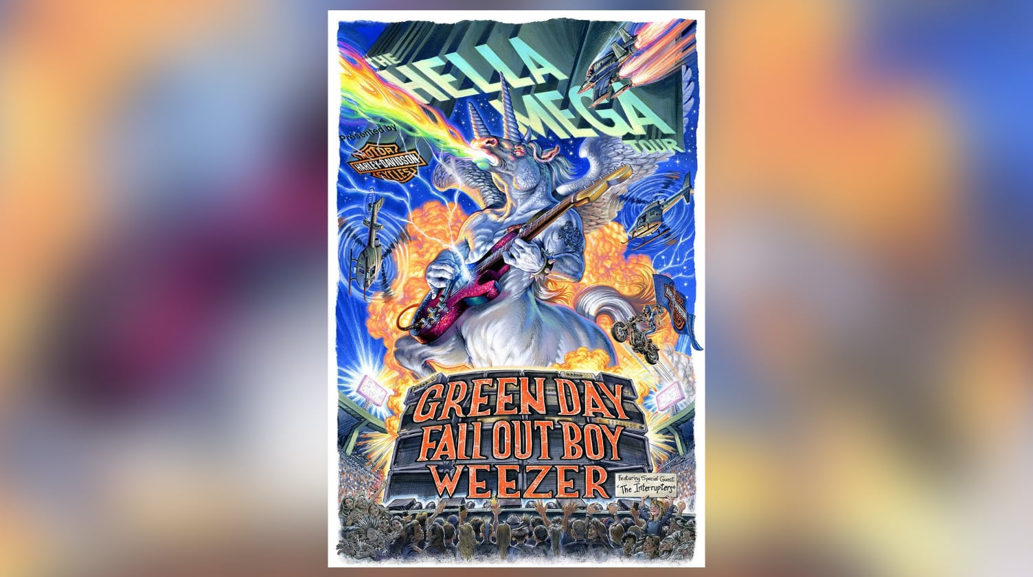Green Day, Fall Out Boy, Weezer to Tour Together • chorus.fm