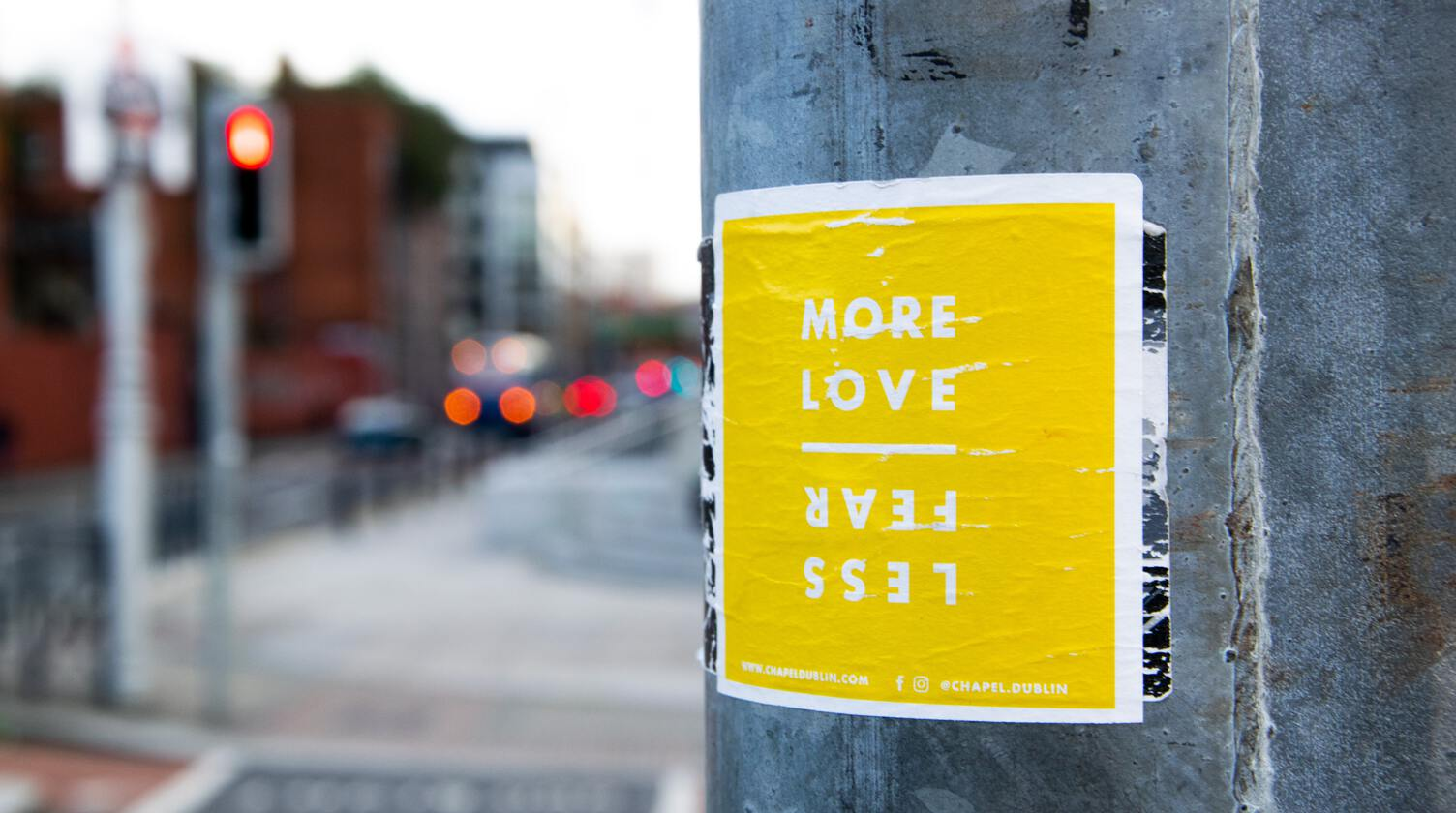 More Love Less Fear